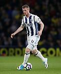 WBA's Chris Brunt in action during the Premier League match at Vicarage Road Stadium, London. Picture date: April 4th, 2017. Pic credit should read: David Klein/Sportimage