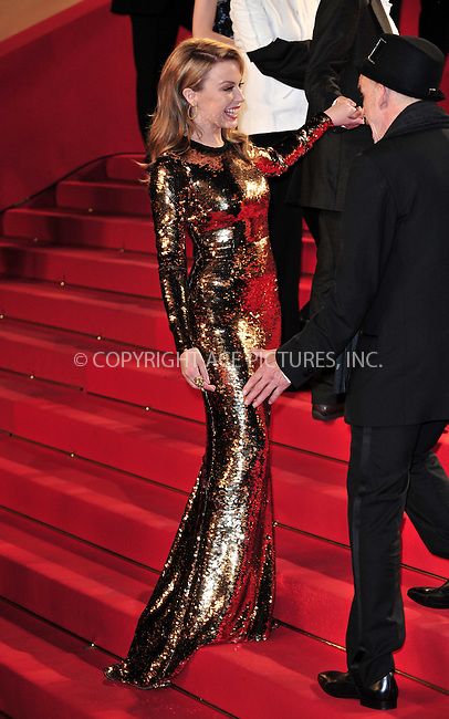 WWW.ACEPIXS.COM . . . . .  ..... . . . . US SALES ONLY . . . . .....May 23 2012, Cannes....Kylie Minogue at the premiere of 'Holy Motors' at the Cannes Film Festival on May 23 2012 in Cannes, France....Please byline: FAMOUS-ACE PICTURES... . . . .  ....Ace Pictures, Inc:  ..Tel: (212) 243-8787..e-mail: info@acepixs.com..web: http://www.acepixs.com
