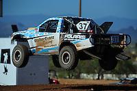 Apr 16, 2011; Surprise, AZ USA; LOORRS driver R.J. Anderson (37) during round 3 at Speedworld Off Road Park. Mandatory Credit: Mark J. Rebilas-.