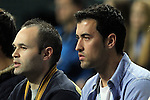 Andres Iniesta & Sergio Busquets. SPAIN vs SLOVENIA: 26-22 - Semifinal.