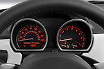 Instrument panel close up detail view of a 2008 BMW Z4 Roadster