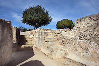 Entrance; Villa of El Munts; I Century AD, Tarragona (Tarraco, Hispania Citerior), Catalonia, Spain; one of the largest built on a hill overlooking the coast, only 12 km from Tarragona (Tarraco).