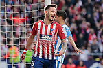 Atletico de Madrid's Saul Niguez celebrates goal during La Liga match between Atletico de Madrid and CD Leganes at Wanda Metropolitano stadium in Madrid, Spain. March 09, 2019. (ALTERPHOTOS/A. Perez Meca)