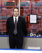 Patrick Foley (Northeastern - Assistant Coach) - The visiting St. Francis Xavier University X-Men defeated the Northeastern University Huskies 8-5 on Sunday, October 2, 2011, at Matthews Arena in Boston, Massachusetts.