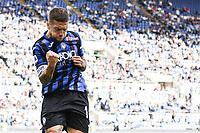 Alejandro Papu Gomez of Atalanta BC celebrates after scoring the goal of 0-3 for his side <br /> Roma 19-10-2019 Stadio Olimpico <br /> Football Serie A 2019/2020 <br /> SS Lazio - Atalanta<br /> Foto Andrea Staccioli / Insidefoto