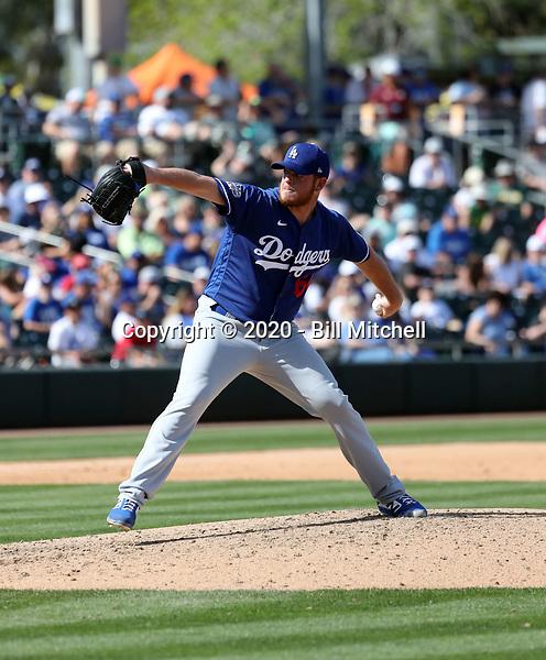 Caleb Ferguson - Los Angeles Dodgers 2020 spring training (Bill Mitchell)