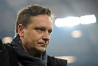FUSSBALL   1. BUNDESLIGA   SAISON 2011/2012   18. SPIELTAG FC Schalke 04 - VfB Stuttgart            21.01.2012 Manager Horst Heldt (Schalke 04)