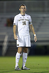 21 October 2016: Notre Dame's Michael Shipp. The Duke University Blue Devils hosted the University of Notre Dame Fighting Irish at Koskinen Stadium in Durham, North Carolina in a 2016 NCAA Division I Men's Soccer match. Duke won the game 2-1 in two overtimes.