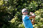 Rafael Cabrera Bello of Spain tees off during the 58th UBS Hong Kong Golf Open as part of the European Tour on 09 December 2016, at the Hong Kong Golf Club, Fanling, Hong Kong, China. Photo by Vivek Prakash / Power Sport Images