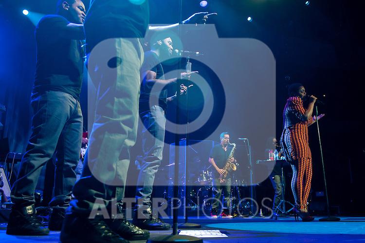 Jill Scott in concert .July 15, 2012. (ALTERPHOTOS/Ricky)