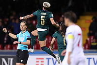 Elena Linari of Italy celebrates after scoring a goal<br /> Benevento 08-11-2019 Stadio Ciro Vigorito <br /> Football UEFA Women's EURO 2021 <br /> Qualifying round - Group B <br /> Italy - Georgia<br /> Photo Cesare Purini / Insidefoto