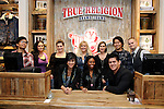 Sonny Mallari, Megan Young, Sheena Wood, Brianne Verzosa, McCall Rollins, Lindsay Hubert, Teresa Walker, Kwan Kim, Derek Valdez, Jason Timothy, at the True Religion store opening in the Forum Shoppes located in Caesar's Palace, Las Vegas, NV, November 18, 2010 © Al Powers / Vegas Magazine