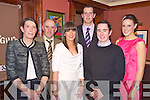 Enjoying the Rathmore social in Darby O'Gills on Friday night were Maureen and Dan Buckley, Noreen O'Donnell, John Buckley, Michael O'Riordan and Yvonne Buckley...
