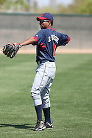 Ronny Rodriguez #2 of the Cleveland Indians.Photo by:  Bill Mitchell/Four Seam Images.