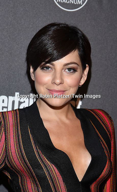 Krysta Rodriguez attends the Entertainment Weekly &amp; PEOPLE Magazine New York Upfronts Celebration on May 16, 2016 at Cedar Lake in New York, New York, USA.<br /> <br /> photo by Robin Platzer/Twin Images<br />  <br /> phone number 212-935-0770