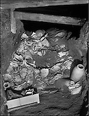 Exploration of the stepped pyramid complex of Djoser. (1924-1935)..Two hundred thousand vases of stone, including alabaster, schist, marble, diorite, as well as bowls, plates, cups, jars, sarcophagi, many of them fractured or crushed, were discovered 33 meters below the surface. All bore the seals of the sixteen kings preceeding Djoser, since the reign of Menes, the very first pharaoh (Irst dynasty - 3,150 B.C.)....CHADOUF MOHAMMED/COLLECTION PATRICK CHAPUIS-PHILIPPE FLANDRIN
