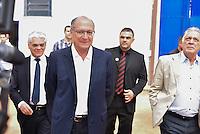 PIRACICABA,SP, 26.07.2016 - ALCKMIN - O Governador Geraldo Alckmin, PSDB, inaugurou a Penitenciária Masculina de Piracicaba que terá a capacidade para abrigar 847 detentos em regime fechado, nesta terça-feira, 26, em Piracicaba, interior de São Paulo. (Foto: Mauricio Bento/Brazil Photo Press)