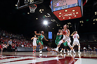 Stanford, CA - March 19, 2018:  Stanford Women's Basketball vs Florida Gulf Coast in the second round of the NCAA Tournament at Maples Pavilion.  Stanford won over FGCU, 90-70.