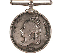 BNPS.co.uk (01202 558833)<br /> Pic: Forum Auctions/BNPS<br /> <br /> Possessions include his Arctic Medal<br /> <br /> An archive belonging to a British naval officer who took part in an ill-fated attempt to reach the North Pole 144 years ago has sold for over £75,000.<br /> <br /> Reginald Baldwin Fulford's mementos of the British Arctic Expedition of 1875-76 were sold by his descendants with Forum Auctions, of London.<br /> <br /> They included previously unseen photos, his metal framed snow glasses, his 'Arctic' china tea cup and saucer, his Arctic Medal, his naval officer's dress sword and a silk sledge flag.<br /> <br /> The collection had been expected to fetch £10,000, but sparked fervent bidding on the day - achieving over seven times their estimate.<br /> <br /> The expedition, led by Sir George Strong Nares, sailed from Portsmouth, Hants, on two ships, HMS Alert and HMS Discovery, on May 29, 1875.