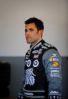 Feb 07, 2009; Daytona Beach, FL, USA; NASCAR Sprint Cup Series driver Aric Almirola during practice for the Daytona 500 at Daytona International Speedway. Mandatory Credit: Mark J. Rebilas-