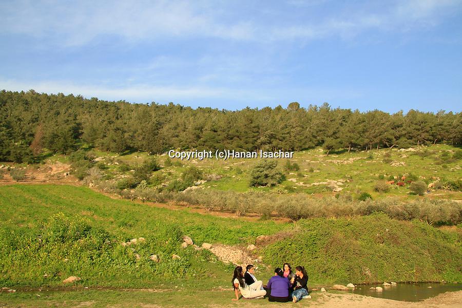 Israel, Lower Galilee, Ein Ivka in Wadi Zippori