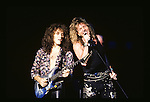 David Coverdale and Vivian Cambell of Whitesnake performs at Garden State Art Center in New Jersey US