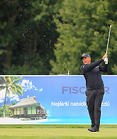 Ricardo Gonzalez (ARG) on the 3rd tee during Round 4 of the D+D Real Czech Masters at the Albatross Golf Resort, Prague, Czech Rep. 03/09/2017<br /> Picture: Golffile   Thos Caffrey<br /> <br /> <br /> All photo usage must carry mandatory copyright credit     (&copy; Golffile   Thos Caffrey)