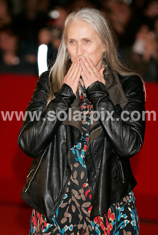 **ALL ROUND PICTURES FROM SOLARPIX.COM**.**SYNDICATION RIGHTS FOR UK AND SPAIN ONLY**.at the '8' - premiere during the 3rd International Rome Film Festival. Rome, Italy. 23rd October 2008..This pic: Jane Campion..JOB REF: 7703 CPR (HHeinz)        DATE: 23_10_2008.**MUST CREDIT SOLARPIX.COM OR DOUBLE FEE WILL BE CHARGED* *UNDER NO CIRCUMSTANCES IS THIS IMAGE TO BE REPRODUCED FOR ANY ONLINE EDITION WITHOUT PRIOR PERMISSION*