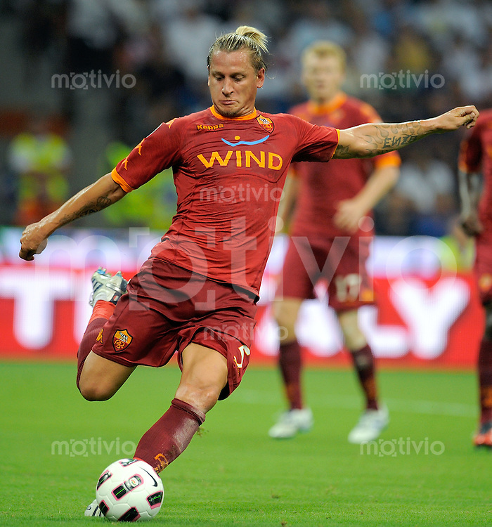 FUSSBALL INTERNATIONAL   SERIE A  SUPERCUP  SAISON 2010/2011    Inter Mailand - AS Rom    21.08.2010 Philippe Mexes (AS Rom)