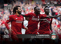 Topps Now Football Card - 01-Sep-2018 - 'Liverpool Kick The Season Off In Style' - Photo by Rob Newell (Camerasport via Getty Images)