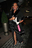 Rene Byrd at the World Cancer Day Gala, Jumeirah Carlton Tower Hotel, Cadogan Place, London, England, UK, on Saturday 03 February 2018.<br /> CAP/CAN<br /> &copy;CAN/Capital Pictures