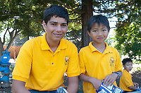 The Harker School - LS - Lower School - Harker's Grade 3 and Sophomore (grade 10) Eagle Buddies - Photo by Kyle Cavallaro