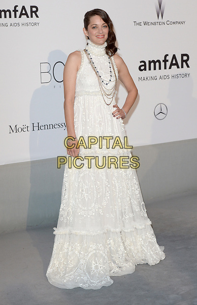 CAP D'ANTIBES, FRANCE - MAY 22: Marion Cotillard attends amfAR's 21st Cinema Against AIDS Gala, Presented By WORLDVIEW, BOLD FILMS, And BVLGARI at the 67th Annual Cannes Film Festival on May 22, 2014 in Cap d'Antibes, France. <br /> CAP/CAS<br /> &copy;Bob Cass/Capital Pictures