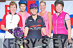 FUN CYCLE: Having fun on the Fenit Lifeboat Fun Cycle on Saturday morning l-r: Maire O'Connell, Abbeydorney, Jackie Ruttledge, Ballyard, Miriam Pope, Doireloin, Tara Murphy, Clougherbrien and Orla Casey, Castleisland..   Copyright Kerry's Eye 2008