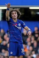 David Luiz of Chelsea during Chelsea vs Everton, Premier League Football at Stamford Bridge on 11th November 2018