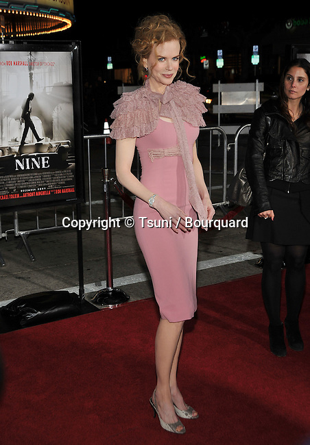 Nicole Kidman_09  -<br /> Nine LA Premiere at the Westwood Village Theatre In Los Angeles.