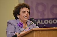 SAO PAULO, SP, 14 DE JANEIRO DE 2013.- HADDAD POLITICA PARA MULHERES - Eleonora Menicucci, ministra da Secretaria de Políticas para as Mulheres da Presidência da República, durante Diálogo Inaugural da Secretaria Especial de Políticas para as Mulheres, na prefeitura de Sao Paulo, da tarde desta segunda feira, 14.  (FOTO: ALEXANDRE MOREIRA / BRAZIL PHOTO PRESS).