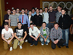 Shane Rogan celebrating his 21st birthday in the Thatch with all his friends. Photo:Colin Bell/pressphotos.ie