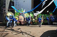 PARINTINS-AM 27-06-2012 - 47º FESTIVAL FOLCLÓRICO DE PARINTINS. ALEGORIAS DO CAPRICHOSO (BOI AZUL) FOTO: ODAIR LEAL/ACRITICA