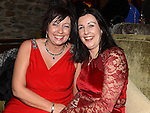 Elaine Kerr and Sylvia Weldon pictured at the Ardee Traders Annual Awards dinner at Darver Castle. Photo:Colin Bell/pressphotos.ie