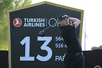 Matt Wallace (ENG) during the second round of the Turkish Airlines Open, Montgomerie Maxx Royal Golf Club, Belek, Turkey. 08/11/2019<br /> Picture: Golffile | Phil INGLIS<br /> <br /> <br /> All photo usage must carry mandatory copyright credit (© Golffile | Phil INGLIS)