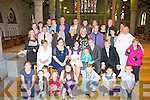 CHRISTENED; On Saturday in St John's Church, Tralee Fr Gerard Finucane christened Lauren Sopia Hurley the daughter of Thomas Hurley and Channelle McInerney, and afterward to Benners Hotel for refreshment......