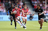 Jaco Kriel of Gloucester Rugby goes on the attack. Gallagher Premiership Semi Final, between Saracens and Gloucester Rugby on May 25, 2019 at Allianz Park in London, England. Photo by: Patrick Khachfe / JMP
