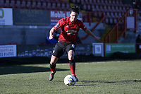 Jess Sigsworth of Manchester United Women during Brighton & Hove Albion Women vs Manchester United Women, SSE Women's FA Cup Football at Broadfield Stadium on 3rd February 2019