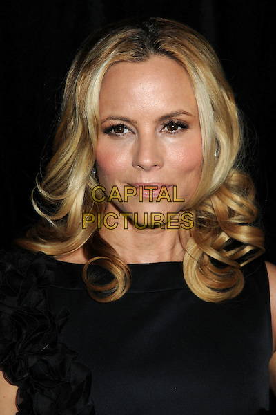 MARIA BELLO .9th Annual Awards Season Diamond Fashion Show Preview Hosted By The Diamond Information Center and InStyle held at the Beverly Hills Hotel, Beverly Hills, California, USA,  .14th January 2010..portrait headshot  black .CAP/ADM/BP.©Byron Purvis/Admedia/Capital Pictures
