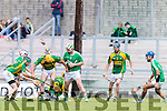 Tom Murnane Kilmoyley in action against Padraig Boyle Ballyduff in the County Senior Hurling Final at Austin Stack Park on Sunday.