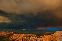 730750193 great cloud formations during a monsoon summer thunderstorm in bryce canyon national park utah united states