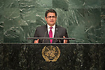 Honduras<br /> H.E. Mr. Juan Orlando Hern&aacute;ndez Alvarado<br /> President<br /> <br /> <br /> General Assembly Seventy-first session 10th plenary meeting<br /> General Debate