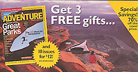 National Geographic ADVENTURE insert Ad