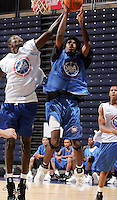 WF Scott Suggs (Washington, MO / Washington) shoots the ball during the NBA Top 100 Camp held Thursday June 21, 2007 at the John Paul Jones arena in Charlottesville, Va. (Photo/Andrew Shurtleff)